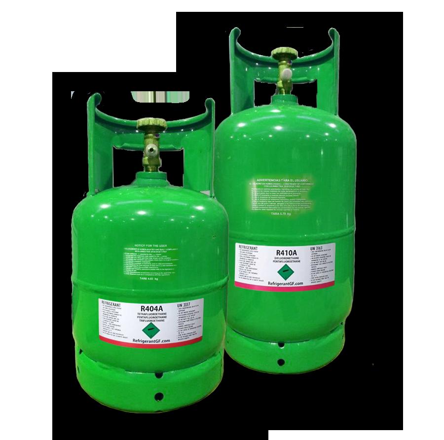 gaz réfrigérant R404A et R410A en France