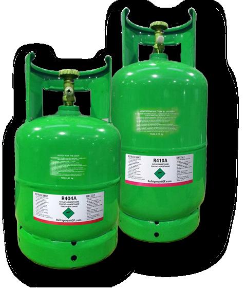 Bouteille gaz refrigerant France R404A R410A